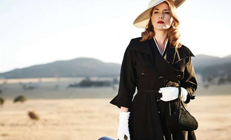 Classy woman from the dressmaker