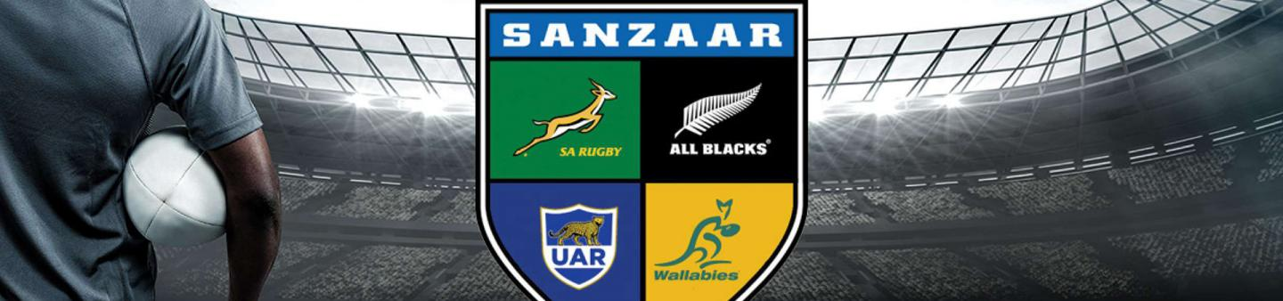 Logo of the SANZAAR rugby governing body