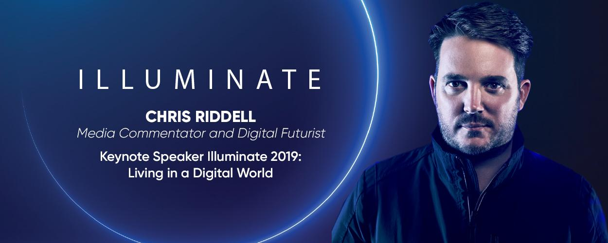 Illuminate guest speaker Chris Riddell